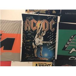 NO RESERVE ACDC COLLECTIBLE FLAG