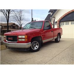 RESERVE LIFTED! SELLING TO THE HIGHEST BIDDER!  1997 GMC SL SHORT BOX C1500