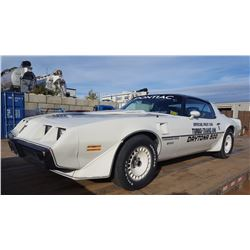 LOWERED RESERVE! 1981 PONTIAC TRANS AM NASCAR EDITION