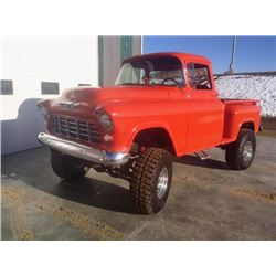 RESERVE LIFTED - 1956 CHEV C-10 4X4 SHORT BOX SIDE STEP FROM THE MARSHALL COLLECTION