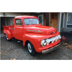 RESERVE LIFTED - 1952 FORD F2 PICKUP RESTORED FROM THE MARSHALL COLLECTION