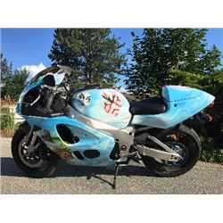 RESERVE LIFTED! 1998 SUZUKI GSXR 750 SHOW BIKE