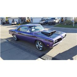 RESERVE LIFTED! 1969 PLYMOUTH BARRACUDA NOTCHBACK