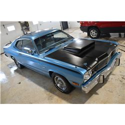 RESERVE LIFTED! SELLING TO THE HIGHEST BIDDER! 1975 PLYMOUTH DUSTER TWO DOOR