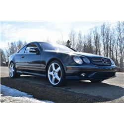 2003 MERCEDES BENZ CL600