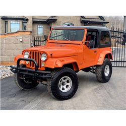 1984 CJ7 CUSTOM JEEP