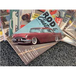 NO RESERVE 1958  COMPLETE SET VINTAGE ROD  CUSTOM MAGAZINES
