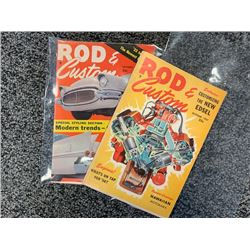 NO RESERVE VINTAGE ROD  CUSTOM 1957 ISSUES