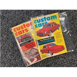 NO RESERVE 1957 VINTAGE CUSTOM CARS MAGAZINES