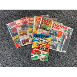 NO RESERVE 1960 VINTAGE CUSTOM CAR MAGAZINES 7 ISSUES