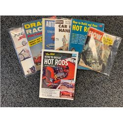 NO RESERVE COLLECTIBLE ASSORTED VINTAGE CAR MAGAZINES