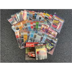 NO RESERVE 45 ISSUES 1966-1991 ROAD  TRACK MAGAZINES