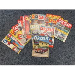 NO RESERVE RARE VINTAGE 1959-1962 CAR CRAFT MAGAZINES 21 ISSUES