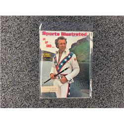 NO RESERVE RARE 1974 SPORTS ILLUSTRATED FEATURING EVIL KNIEVEL