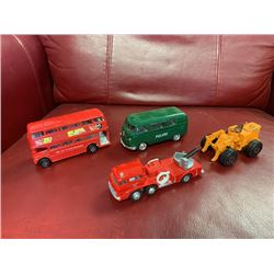 NO RESERVE 4 COLLECTIBLE CORGI TOY VEHICLES