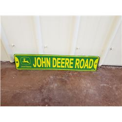 NO RESERVE JOHN DEERE COLLECTIBLE BANNER