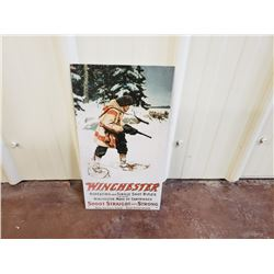 NO RESERVE WINCHESTER SINGLE SHOT RIFLES COLLECTIBLE SIGN
