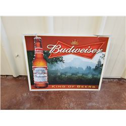 NO RESERVE BUDWEISER COLLECTIBLE SIGN