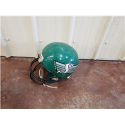 NO RESERVE SASKATCHEWAN ROUGHRIDERS HELMUT