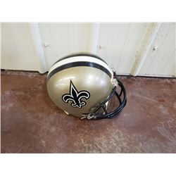 NO RESERVE NEW ORLEANS SAINTS NFL HELMUT
