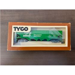 NO RESERVE VINTAGE 344F 40 HOPPER CAR BURLINGTON NORTHERN MADE BY TYCHO