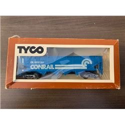NO RESERVE VINTAGE COLLECTIBLE TYCO G46 NUMBER 344H 40 HOPPER CAR CONRAIL EXCELLENT CONDITION