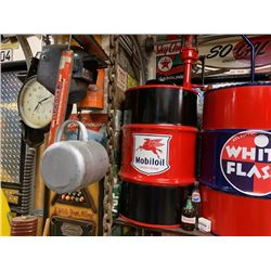 NO RESERVE COLLECTIBLE CUSTOM MOBIL OIL GAS PUMP