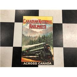 NO RESERVE COLLECTIBLE CANADIAN NATIONAL RAILWAYS SIGN