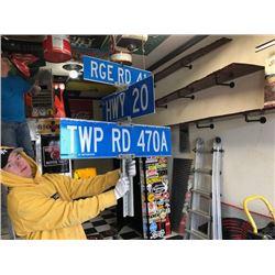NO RESERVE 3 ROAD SIGNS