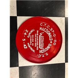 NO RESERVE MACDONALD DAVIDSON COLLECTIBLE TRAY