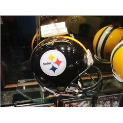 TERRY BRADSHAW NFL SIGNED HELMET PITTSBURG STEELERS