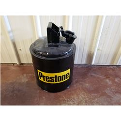 NO RESERVE CUSTOM PRESTONE JERRY CAN