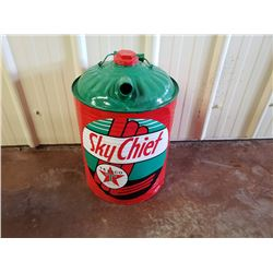 NO RESERVE TEXACO SKYCHIEF JERRY CAN