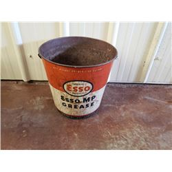 NO RESERVE VINTAGE, ORIGINAL ESSO MP GREASE BUCKET