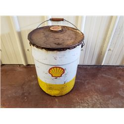 NO RESERVE VINTAGE RARE SHELL OIL BARREL