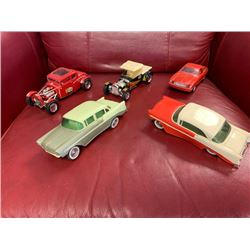 NO RESERVE SET OF 5 COLLECTABLE MODEL CARS