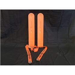 NO RESERVE HUSQVARNA CHAINSAW COVERS AND SUSPENDERS