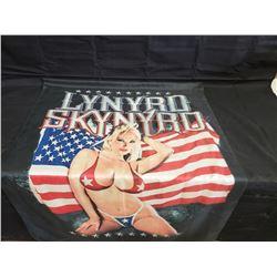 NO RESERVE COLLECTIBLE LYNYRD SKYNYRD FLAG