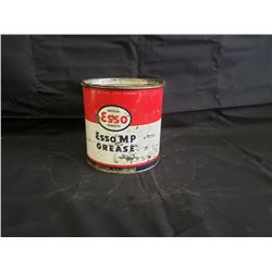 NO RESERVE VINTAGE CAN OF ESSO GREASE OIL UNOPENED 5LB
