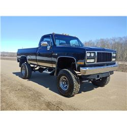 1985 GMC K3500 454 BIG BLOCK