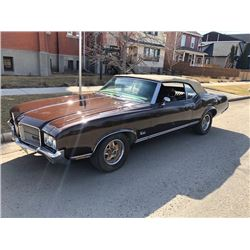 RESERVE LIFTED! 1971 OLDSMOBILE CUTLASS CONVERTIBLE