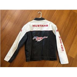 NO RESERVE SHELBY MUSTANG LEATHER JACKET