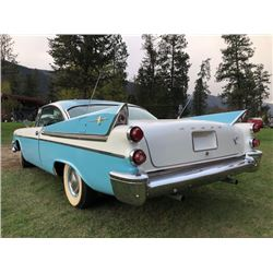 1957 DODGE ROYAL LANCER CUSTOM TWO DOOR COUPE
