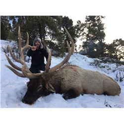 Central Mountains, Manti Any Weapon Elk Permit