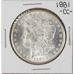 1881-CC $1 Morgan Silver Dollar Coin