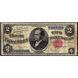 1891 $2 Treasury Note