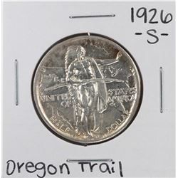 1926 Oregon Trail Commemorative Half Dollar Coin