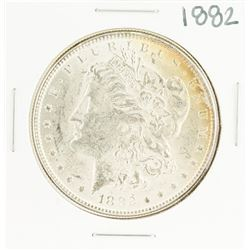 1882 $1 Morgan Silver Dollar Coin Nice Toning