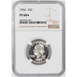 1956 Proof Washington Quarter Coin NGC PF68 Star
