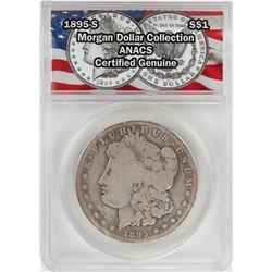 1895-S $1 Morgan Silver Dollar Coin ANACS Certified Genuine